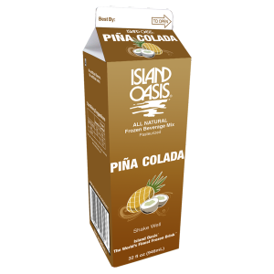 Island Oasis Pina Colada mix